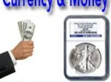 what is the difference between currency and money